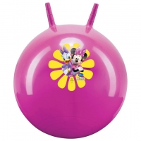Disney - Skippybal Minnie Mouse en Katrien Duck, roze