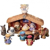 Fisher Price - Little people kerststal