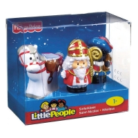 Fisher Price - Little People Sinterklaas en Zwarte Piet