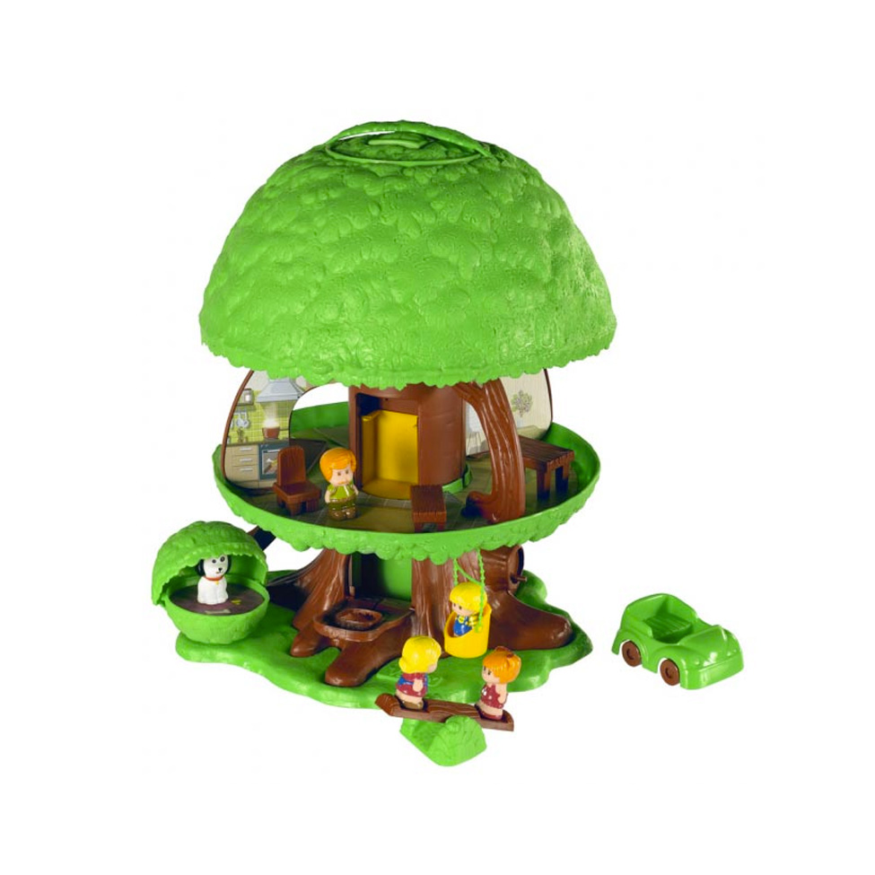 Klorofil magische speelboom tijdloze speelboom for Arbre maison jouet