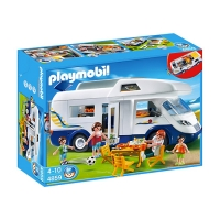 Playmobil - Grote familie camper